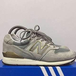 New Balance Gray and Gold