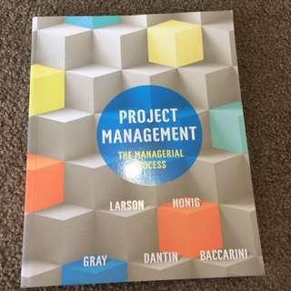 Project management Texbooks