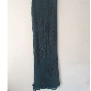 Mimco Scarf Green never used