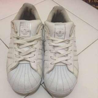 Sepatu Adidas White All Star
