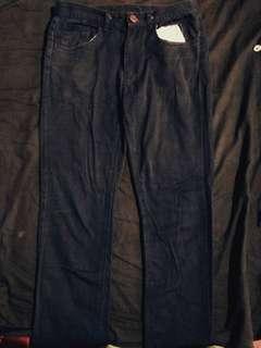 二手深藍色休閒長褲