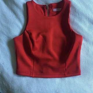 Supré XXS Red Top