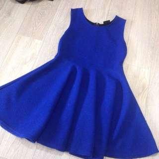 ROYAL BLUE DRESS 💙 (S-M)