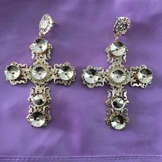 Dolce Cross Earrings