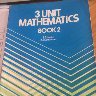3Unit Mathematics Book 2