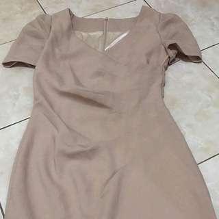 ‼️REPRICING‼️Business attire or Formall dress (cream)