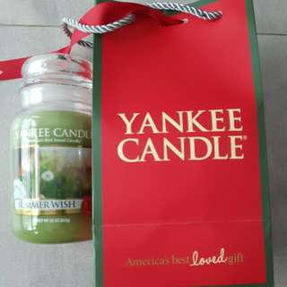 Yankee Candle (Summer Wish)