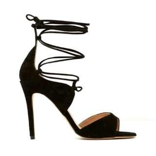 Tony Bianco 'Karim' Tie Up Stiletto Heel (Sz 9.5)