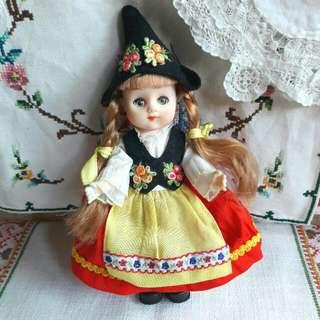 古董蘇格蘭娃娃
