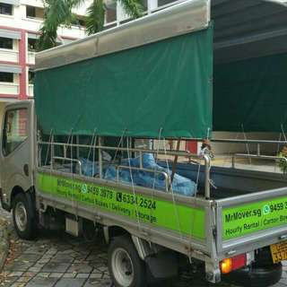 Book Our 10ft LORRY FOR HOURLY RENTAL (Movers, Box, Storage)