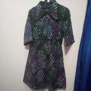 Dress Batik Jogja