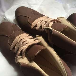Sepatu Lokal Nude/brown