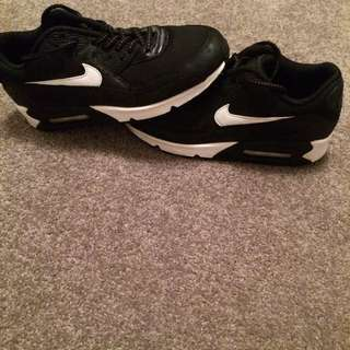 Nike Air Max Shoes Light Reflective Size 7 Nz
