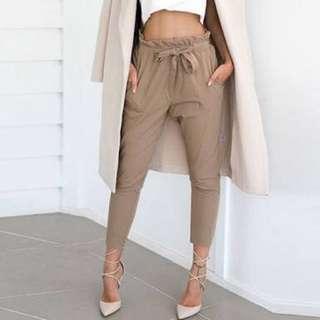Size 10 Paper Bag Pants