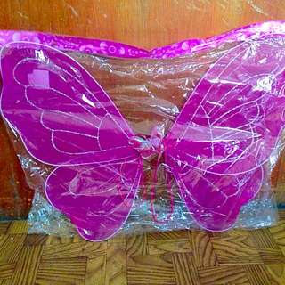 Color Pink Wings