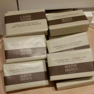 MOLTON BROWN soothing milk&oatmeal soap
