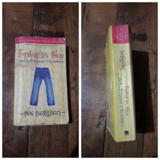Ann Brashares Forever In Blue ( 4th Summer Of The Sisterhood )