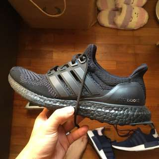 Ultra Boost Triple black 1.0