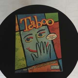 Taboo Singapore Version