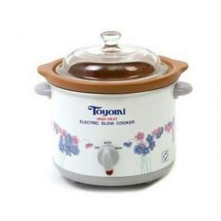 Toyomi High Heat Slow Cooker 1.2L