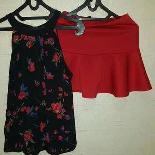 Forever 21 Skirt Set