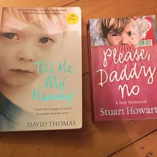 2 X Books (please Daddy No, Tell Me Why Mummy)
