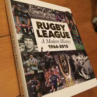 Rugby League History Book