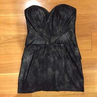 Seduce Strapless Minidress