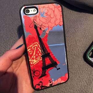 IPhone 5/5s case Eiffel Tower