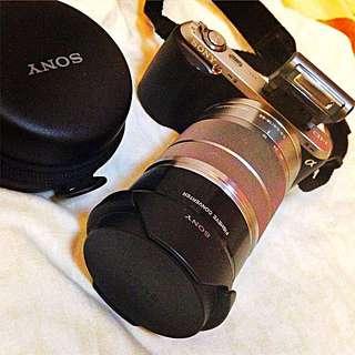 Sony Mirrorless Camera NEX C3 W/ Kit Lens Plus Fish eye Lens