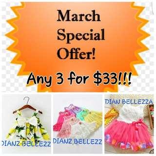 (CLOSED) Dresses on sale