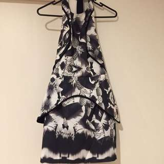 Finders Keepers Floral Pineapple Dress