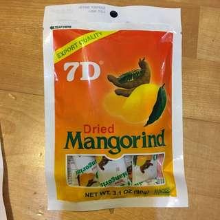 7D軟糖 芒果 羅望子軟糖