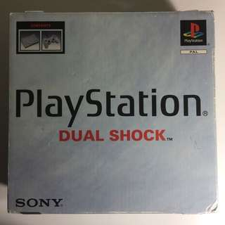 PS1 + 7 Games