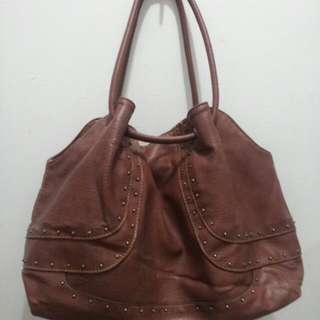 Repriced Authentic Leather Nine West Bag
