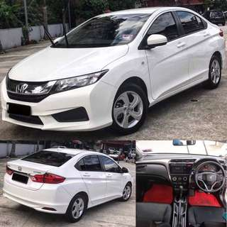 SAMBUNG BAYAR / CONTINUE LOAN  HONDA CITY S PLUS 1.5L I-VTEC