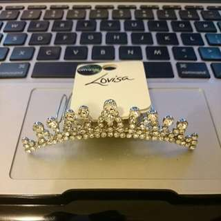 🆕Brand New Crystal Crown Hair Ornament