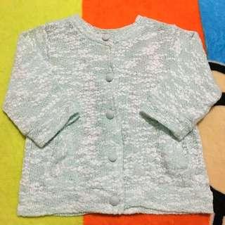 Baby Girl's Mint Green Cardigan / Jacket