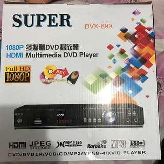 多媒體DVD播放器