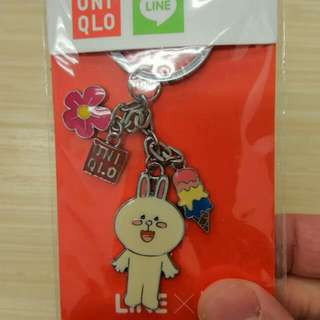 LINE Cony Key Chain from Uniqlo