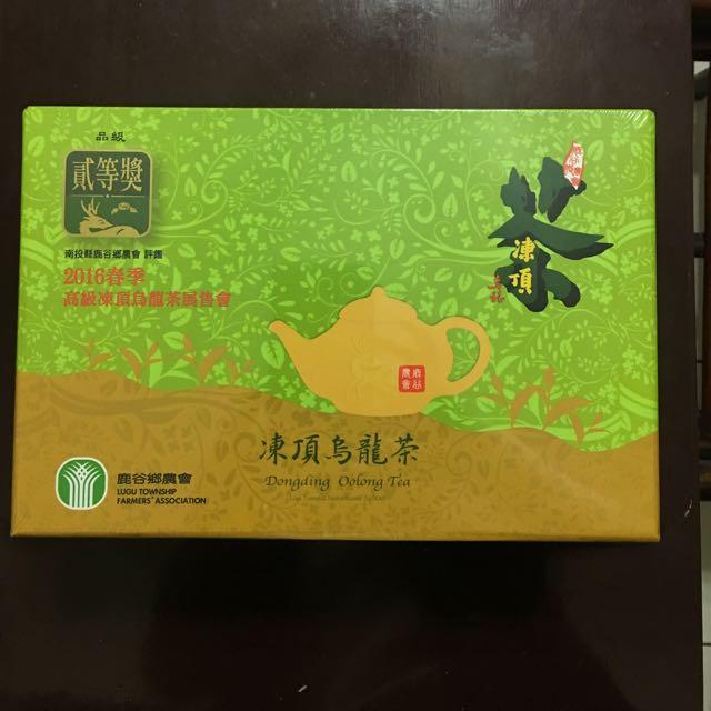 2016春季南投鹿谷鄉凍頂烏龍茶150g*2罐