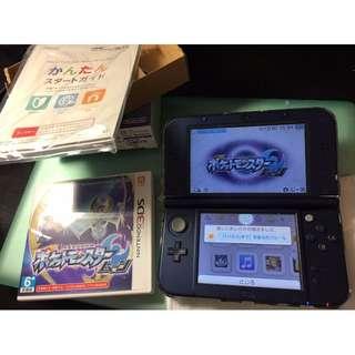 New 3DS LL +  神奇寶貝 月亮