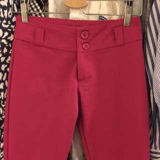 Ruby Pink Smart Pants