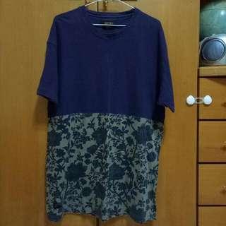 美牌 正品 正版 10deep 街牌 美製 短袖 短踢 T-shirt 短t 紫色 印花 滿版花 卡其 拼接 撞色 上衣