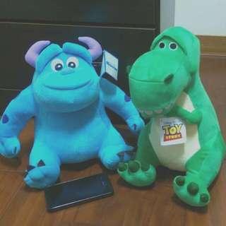 玩具總動員 抱抱龍 怪獸電力公司 毛怪