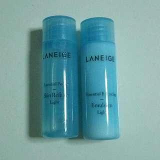 Laneige Skin Refiner & Emulsion (Light)