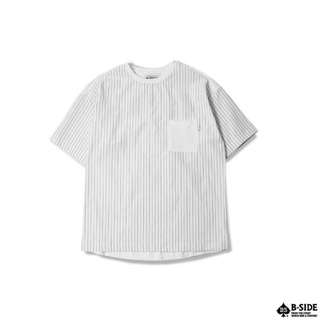 B-SIDE STRIPE POCKET T-shirt