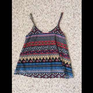 Tribal Patterned Tank Rop