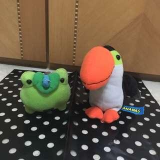 可愛小青蛙/ 可愛大嘴鳥