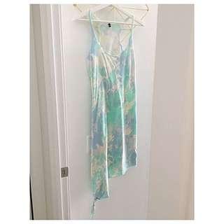 Tie Dye Beach Dress